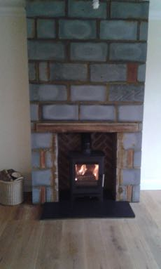 Installing A Wood Burner Pictures Eco Fires And Stoves