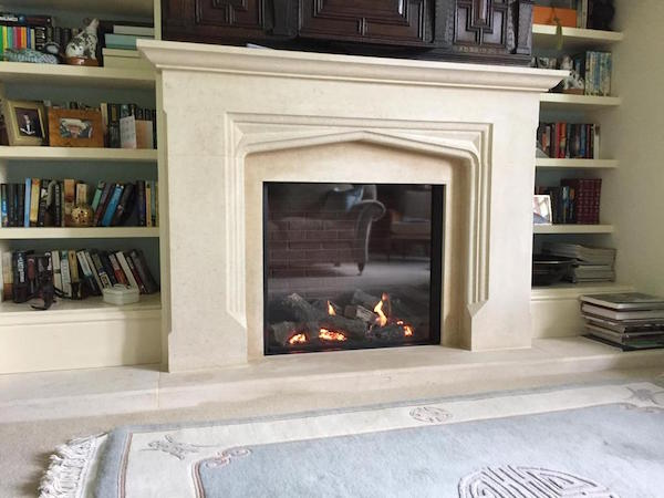 Gazco Riva 2/750 from our gas  fire showroom